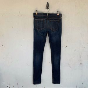 rag & bone Dark Wash Skinny Denim Jeans
